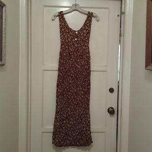 Dresses & Skirts - Long brown floral dress